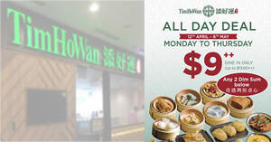 Tim Ho Wan's All-Day Dim Sum deal is back from 12 April – 6 May 2021, Monday to Thursdays