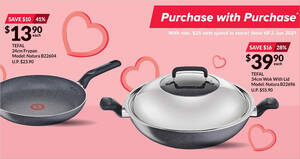 Fairprice Xtra: Spend & Redeem Discounted Tefal cookware products items till 2 Jun 2021