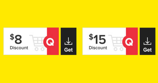 Featured image for Qoo10: Grab free $8 and $15 cart coupons till 20 June 2021
