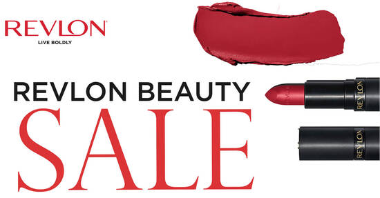 Featured image for (CANCELLED) Revlon up to 80% off beauty sale from 5 - 7 May 2021