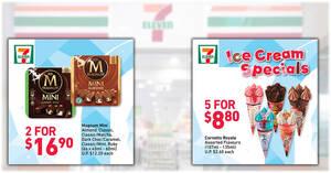 7-Eleven Ice Cream Specials: Cornetto Royale 5-for-$8.80, 3-for-$9.90 Haagen Dazs Stickbars & more (From 10 June 2021)