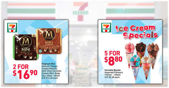 Featured image for 7-Eleven Ice Cream Specials: Cornetto Royale 5-for-$8.80, 3-for-$9.90 Haagen Dazs Stickbars & more (From 10 June 2021)