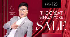 Ogawa Great Singapore Sale Promotion from 21 June 2021