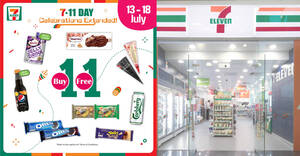 Featured image for 7-Eleven: Buy-1-Get-1-Free Cornetto, Oreo, Ribena Jelly Drink & more till 18 July 2021