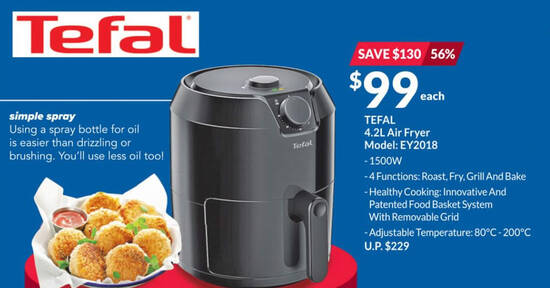 Featured image for Fairprice Xtra is offering Tefal small appliances at up to 56% off till 18 Aug 2021