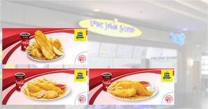 Long John Silver's S'pore: 2pc Dory with fries + regular drink at $5.60 & more NDP2021 ecoupons till 30 Sep 2021