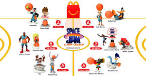 McDonald's S'pore latest Happy Meal toys features Space Jam till 18 Aug 2021
