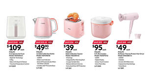 Featured image for Fairprice Xtra is offering pink Philips small appliances at up to 57% off till 4 Aug 2021