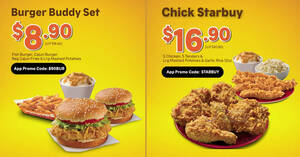 Popeyes S'pore is offering takeaway deals from $8.90 (usual $18.40) from 28 July 2021