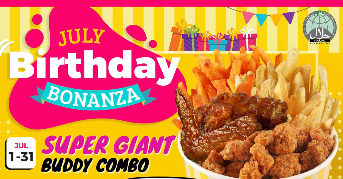 Featured image for Shake Shake In A Tub celebrates their birthday with special deals till 31 July 2021