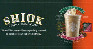 Featured image for Starbucks S'pore brings back the Shiok-ah-ccino beverage in a new flavour from 22 July 2021
