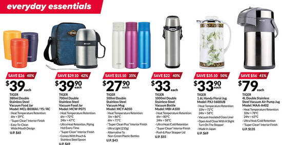 Featured image for Tiger Japan appliances up to 50% off offers at Fairprice Xtra till 4 Aug 2021
