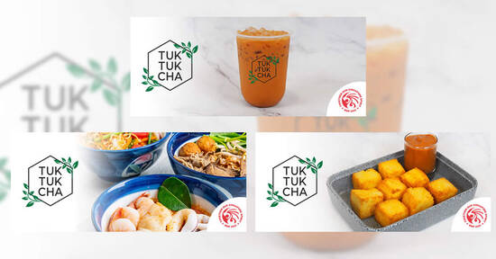 Featured image for Tuk Tuk Cha: 1-for-1 Large Thai Milk Tea & more NDP 2021 ecoupons valid till 31 Oct 2021