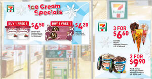Featured image for 7-Eleven S'pore: 1-for-1 Magnum Ruby, Haagen-Dazs Summer Berries & Cream and other deals till 31 Aug 2021
