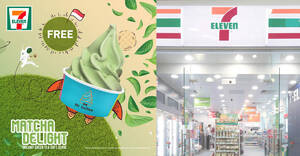 Featured image for 7-Eleven S'pore is giving away free Matcha Mr Softee (No purchase required) from 9 – 17 Aug 2021