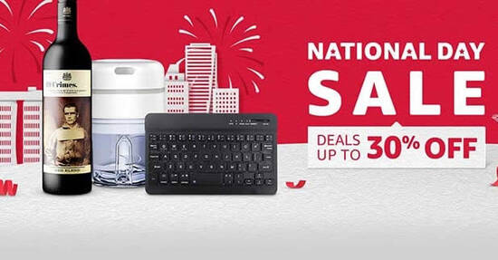 Featured image for Amazon SG's National Day Sale offers deals up to 30% off till 9 Aug 2021