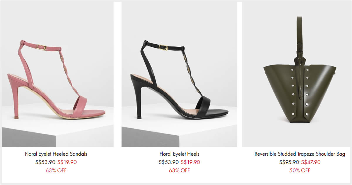 Featured image for Charles & Keith's online sale till 13 Sep offers up to 50% off women's bags, shoes, and accessories
