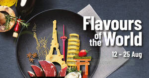 Featured image for Cold Storage: Flavours of The World Fair 2021 at all 48 Cold Storage and CS Fresh outlets till 25 Aug 2021