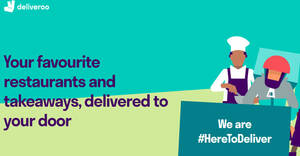Featured image for Deliveroo: Get $6 off your order with these UOB cardmember codes valid till 31 Oct 2021