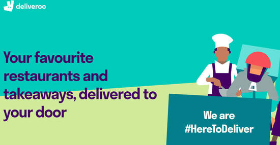 Featured image for Deliveroo: Get $6 off your order with these UOB cardmember codes valid till 30 Sep 2021