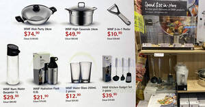 Fairprice Finest: Spend & redeem WMF cookware at up to 65% off till 8 Sep 2021