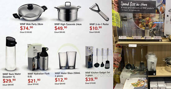 Featured image for Fairprice Finest: Spend & redeem WMF cookware at up to 65% off till 8 Sep 2021