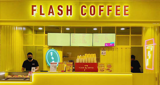 Featured image for Flash Coffee is giving away free coffee for all on 7 September 2021