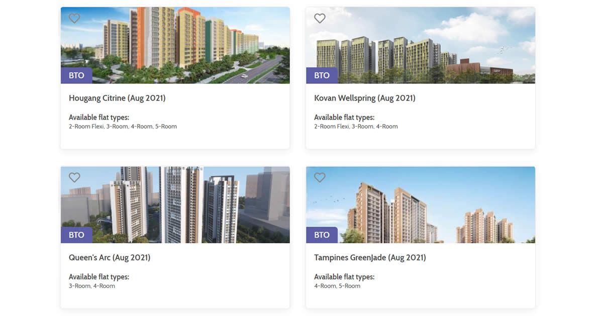 Featured image for HDB Launches 4,989 Flats in August 2021 BTO Exercise. Apply by 17 Aug 2021