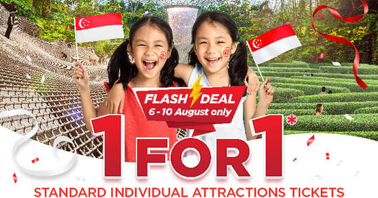Featured image for Jewel Changi Airport: 1-for-1 tickets to Canopy Park attractions (for visits up to 30 Sep) till 10 Aug 2021