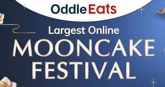 Featured image for Over 40 brands and 370 selections to choose from at the Largest Online Mooncake Festival hosted by Oddle