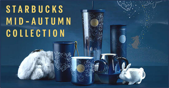 Featured image for Starbucks S'pore to launch 2021 Mid-Autumn Collection from 1 Sep 2021