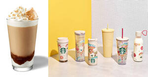 Starbucks S'pore launching new S'mores Frappuccino & Joy of Connection Collection from 11 August 2021