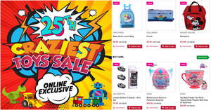 Takashimaya Craziest Toys Sale offers discounts of up to 70% off till 29 Aug 2021