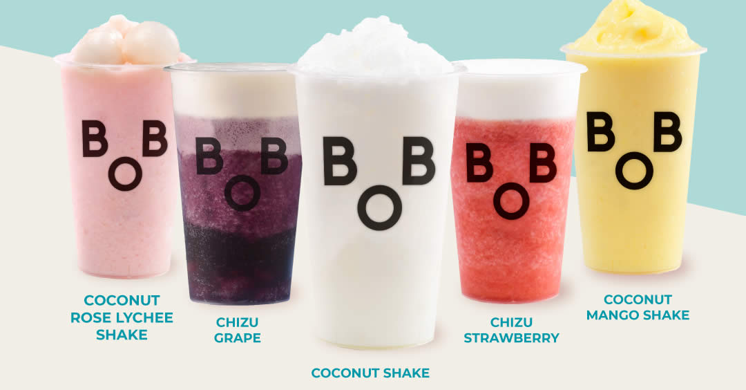 Featured image for Bober Tea: 50% off second fruit smoothie drink from 10 - 12 Sep 2021