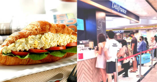 Delifrance is offering their signature Sandwich Croissants at $5 (usual $7.50) each at S'pore stores till 28 Sep 2021