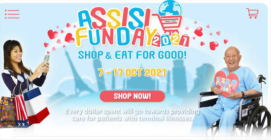 Assisi Fun Day 2021 – Shop and Eat for Good! From 7 – 17 Oct 2021