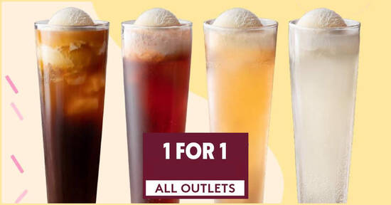 Haagen Dazs is offering 1-for-1 ice cream floats at all S'pore outlets on 29 Sep 2021