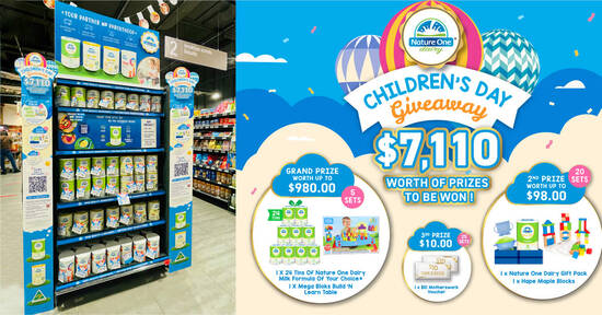 Featured image for $2 Off + Free Snack Cup when you purchase Nature One Dairy® formula milk till 15 Oct 2021