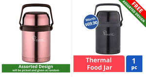 Featured image for Buy $68 worth of Nestle OMEGA® products and get Free La Gourmet 1L Food Thermal Jar (worth $69.90) till 4 Oct 2021