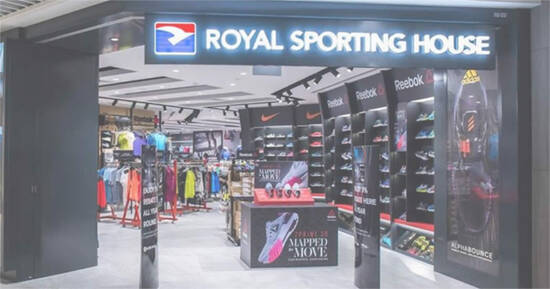 Featured image for Royal Sporting House: 20% off regular-priced apparel and footwear storewide till 5 Sep 2021