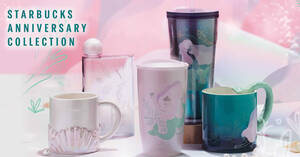 Featured image for Starbucks to launch new Anniversary Collection merchandise in Singapore from 15 Sep 2021