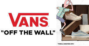 Vans Singapore is offering 30% off sitewide at its online store till 19 Sep 2021