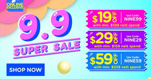 Featured image for Watsons: Get up to $59 off at online store with these codes till 9 Sep 2021