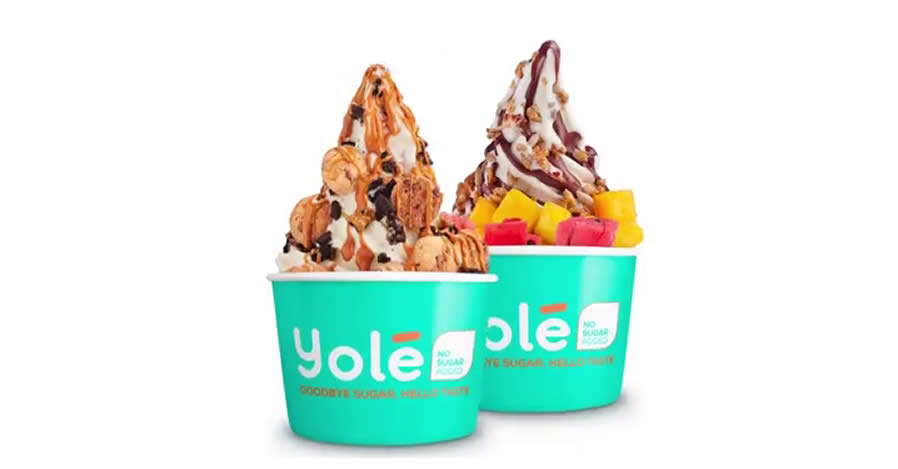 Featured image for Yolé is offering two medium cups for just $9.90 from 6 - 9 Sep 2021