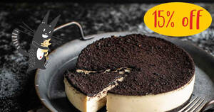 Featured image for Cat & the Fiddle: 15% OFF The Modern Duke's Pudding (OREO® Cookies & Cream) cheesecake till 16 Oct