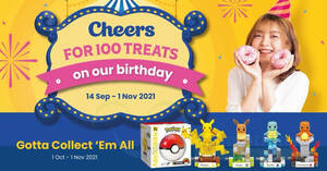 Featured image for Cheers and FairPrice Xpress Celebrate 23rd Anniversary with Pokémon Purchase with Purchase till 1 Nov 2021