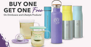 Featured image for Coffee Bean S'pore offering Buy One Get One Free on selected drinkware and lifestyle products from 21 Oct 2021