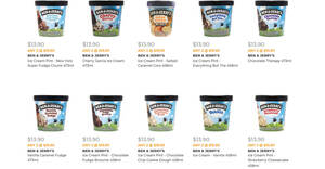 Featured image for Cold Storage is selling Ben & Jerry's ice cream pints at 2-for-$19.90 (U.P. $27.80) till 13 Oct 2021
