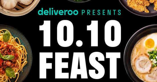 Featured image for Deliveroo: Enjoy $10 off on your next feast with these voucher codes till 17 Oct 2021