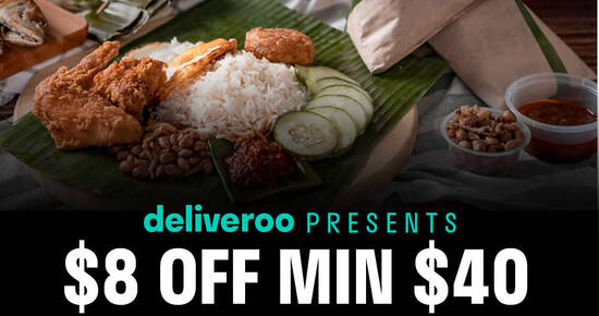 Featured image for Deliveroo: Citibank credit cardholders enjoy $8 off your order when you use this code till 31 Oct 2021